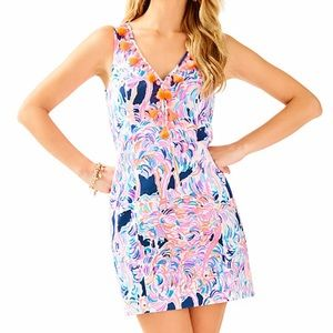 Lilly Pulitzer Pink Cabrey Shift Size 6 New